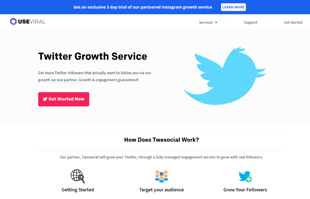 UseViral Twitter Growth
